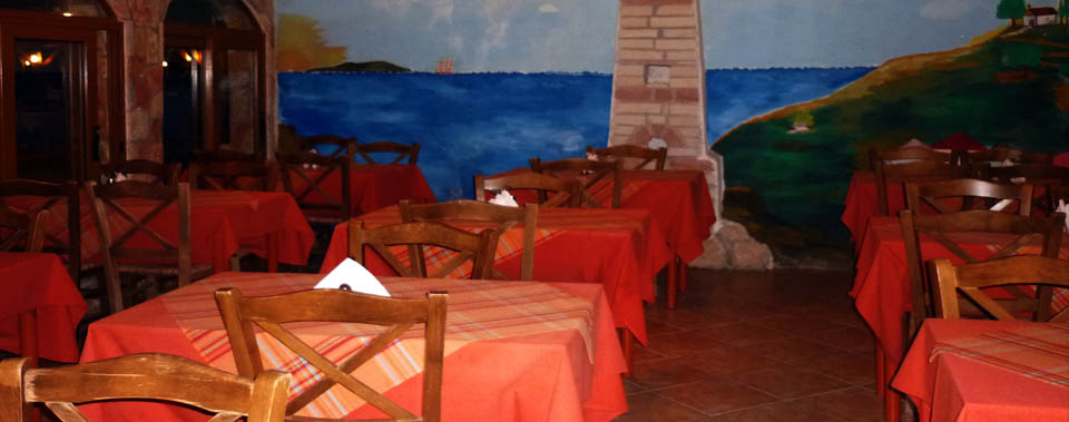 Inside seating area is also available in our restaurant
